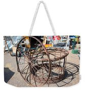 Fayetteville Texas Rings And Wheels Weekender Tote Bag