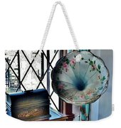 Antique Edison Phonograph In The Boardwalk Plaza Lobby - Rehoboth Beach Delaware Weekender Tote Bag