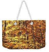 Antique Fall Weekender Tote Bag