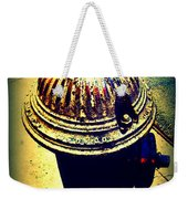 Antique Vintage Fire Hydrant - Multi-colored Weekender Tote Bag