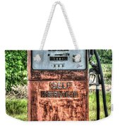 Antique Gas Pump 1 Weekender Tote Bag