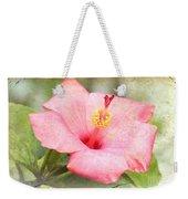 Antique Hibiscus Weekender Tote Bag