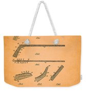Antique Hockey Stick Patent 1935 Weekender Tote Bag