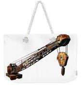 Antique Industrial Hoist Weekender Tote Bag
