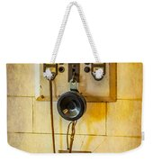 Antique Intercom Weekender Tote Bag