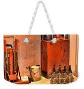 Antique Oil Bottles Weekender Tote Bag