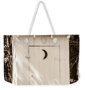 Antique Outhouse Weekender Tote Bag