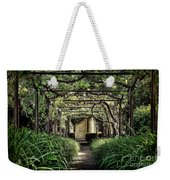 Antique Pergola Arbor Weekender Tote Bag