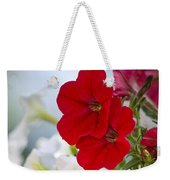 Antique Petunia Flowers Weekender Tote Bag
