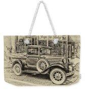 Antique Pickup Truck Weekender Tote Bag
