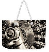 Antique Plane Engine Weekender Tote Bag