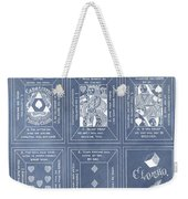 Antique Playing Cards Weekender Tote Bag