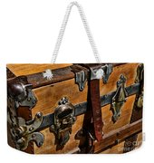 Antique Steamer Truck Detail Weekender Tote Bag
