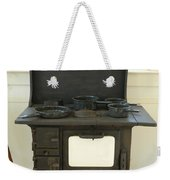 Antique Stove Number 2 Weekender Tote Bag