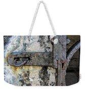 Antique Textured Metalwork Gate Weekender Tote Bag