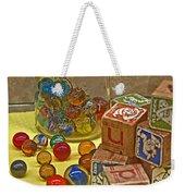 Antique Toys Weekender Tote Bag