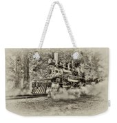 Antique Train Weekender Tote Bag