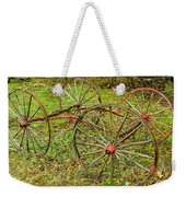 Antique Wagon Frame Weekender Tote Bag