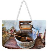 Antique Washing Machine Weekender Tote Bag
