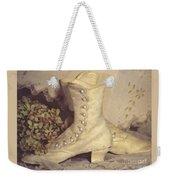 Antique Wedding Shoes Weekender Tote Bag