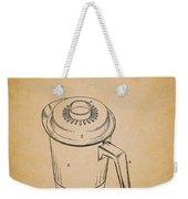 Antique Westinghouse Coffee Maker Patent 1964 Weekender Tote Bag