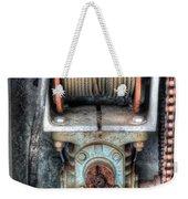 Antique Winch Weekender Tote Bag