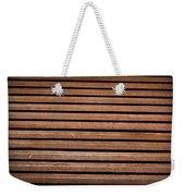 Antique Wood Texture Weekender Tote Bag