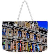 Antwerp's City Hall Weekender Tote Bag