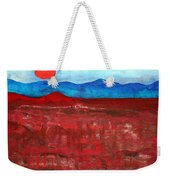 Anza-borrego Vista Original Painting Weekender Tote Bag