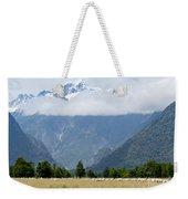 Aoraki Mt Cook Highest Peak Of Southern Alps Nz Weekender Tote Bag