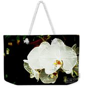 Aos White Orchid 1 Weekender Tote Bag