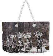 Apache Crown Dancers Date And Location Unknown 2013 Weekender Tote Bag