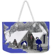 Apache Scouts Soldiers Living Quarters Location And Date Unknown  Weekender Tote Bag