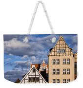 Apartment Houses In Gdansk Weekender Tote Bag