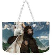 Ape And Girl Weekender Tote Bag
