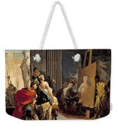 Apelles Painting The Portrait Of Campaspe Weekender Tote Bag