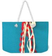 Aphrodite Genettylis Necklace Weekender Tote Bag by Augusta Stylianou