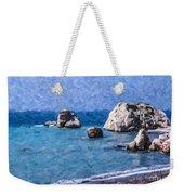 Aphrodites Rock Cyprus Weekender Tote Bag