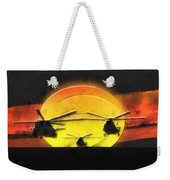 Apocalypse Now Weekender Tote Bag by Mo T