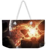 Apocalyptic Space Scene With An Weekender Tote Bag