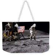 Apollo 16 Lunar Landing Astronaut Young Weekender Tote Bag