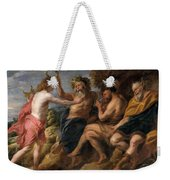 Apollo As Victor Over Pan Weekender Tote Bag