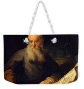 Apostle Paul Weekender Tote Bag