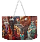 Apothecary - A Series Of Bottles Weekender Tote Bag