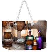 Apothecary - Oleum Rosmarini  Weekender Tote Bag by Mike Savad