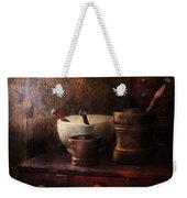 Apothecary - Pick A Pestle  Weekender Tote Bag by Mike Savad