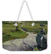 Appalachian Trail Mountain Path Saddleback Maine Weekender Tote Bag