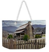 Appalachian Mountain Cabin Weekender Tote Bag by Randall Nyhof