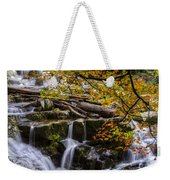 Appalachian Mountain Waterfall Weekender Tote Bag