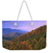 Appalachian Mountains Ablaze  Weekender Tote Bag